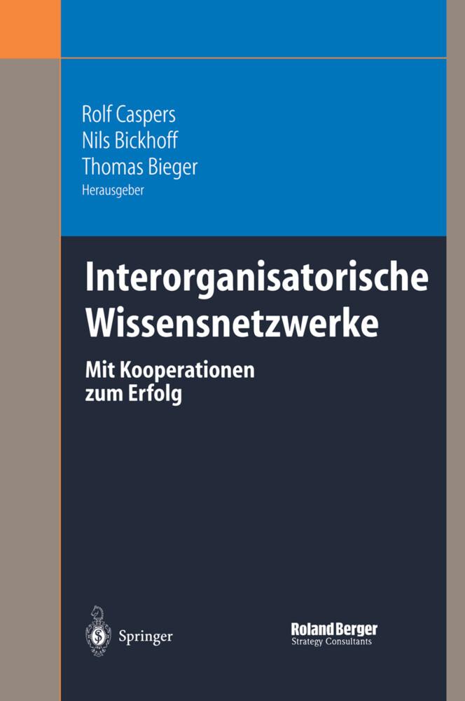 Interorganisatorische Wissensnetzwerke als Buch