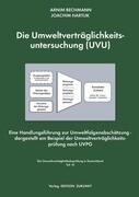 Die Umweltverträglichkeitsuntersuchung (UVU)