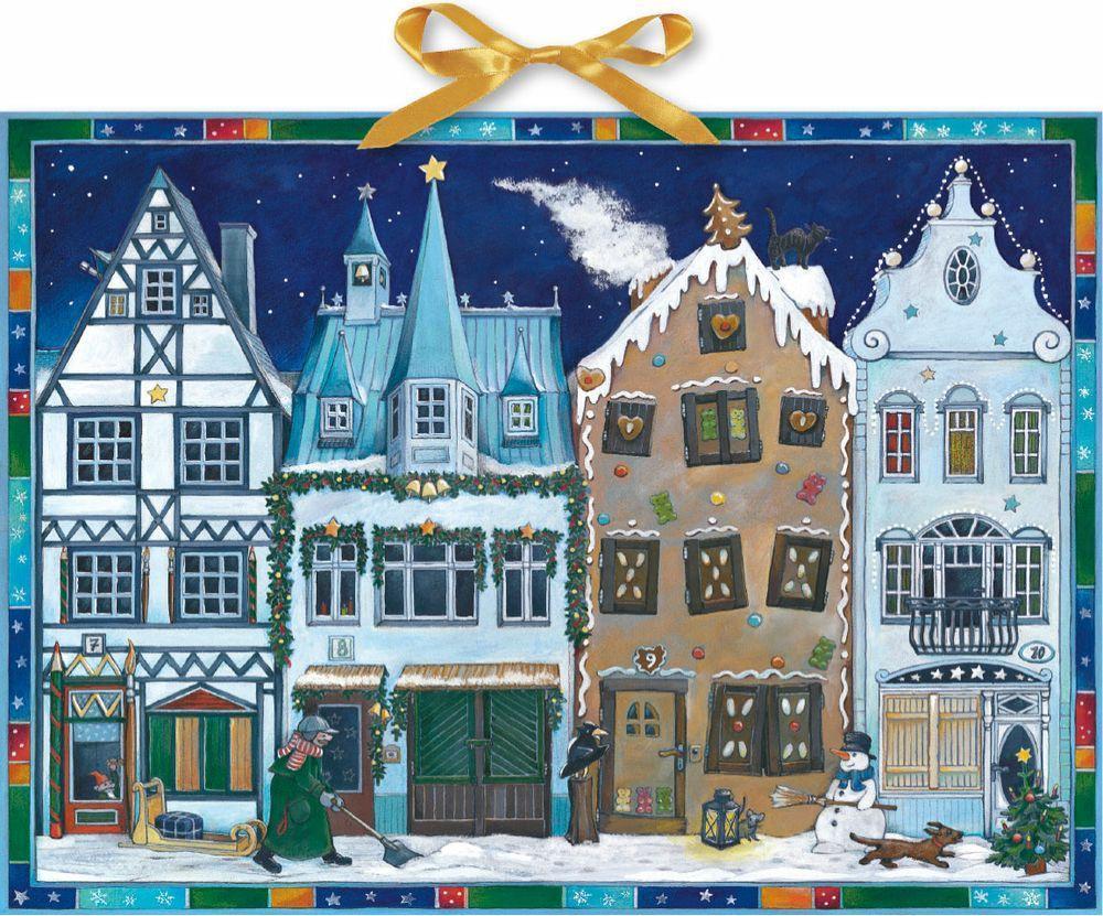 In der Weihnachtsstraße als Kalender