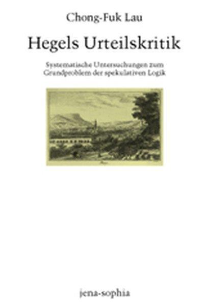 Hegels Urteilskritik als Buch