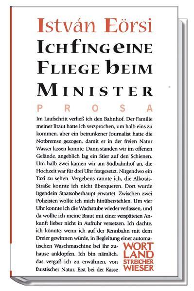 Ich fing eine Fliege beim Minister als Buch
