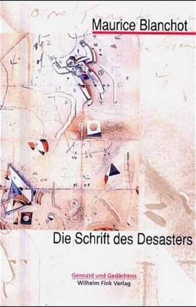 Die Schrift des Desasters als Buch