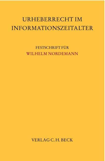 Urheberrecht im Informationszeitalter als Buch