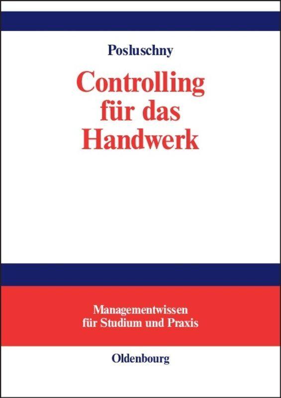 Controlling für das Handwerk als Buch