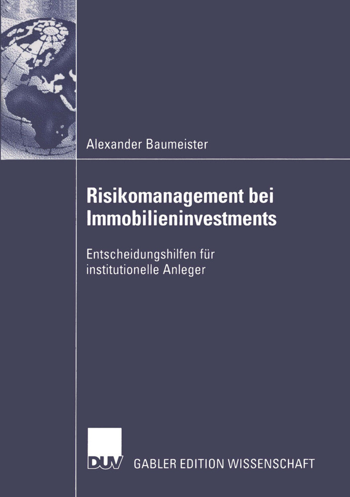 Risikomanagement bei Immobilieninvestments als Buch
