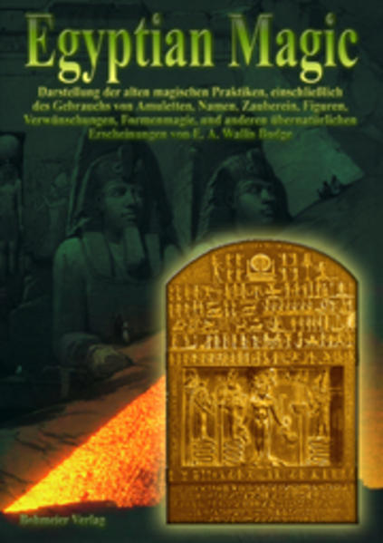 Egyptian Magic - Ägyptische Magie als Buch