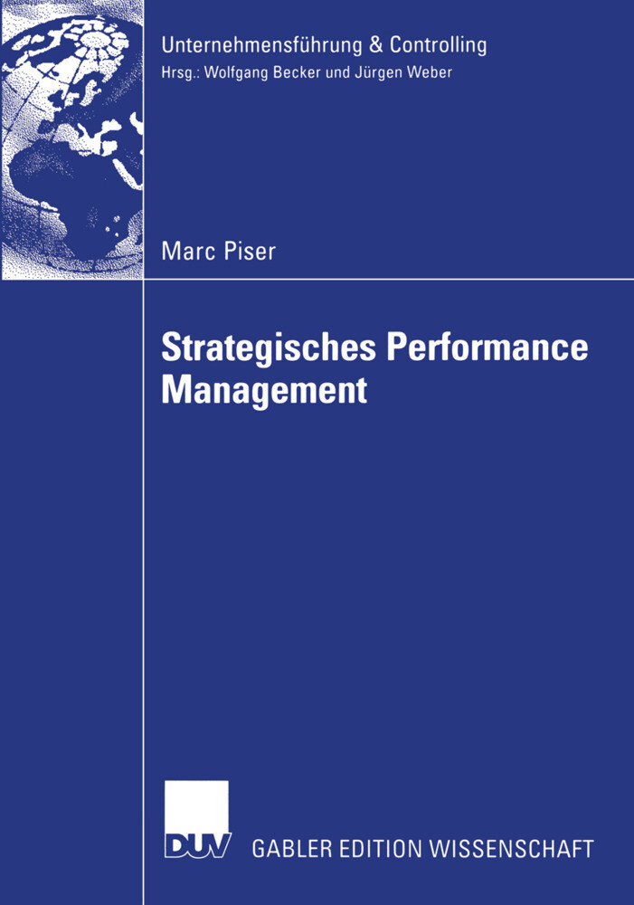Strategisches Performance Management. Dissertation als Buch