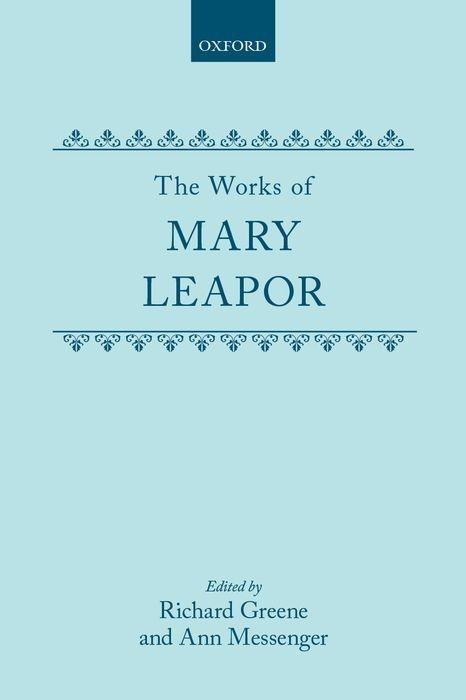 The Works of Mary Leapor als Buch