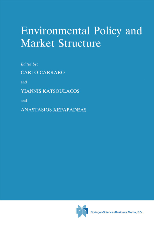 Environmental Policy and Market Structure als Buch