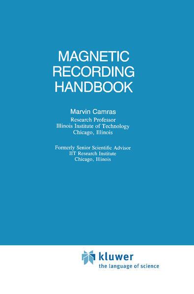Magnetic Recording Handbook als Buch