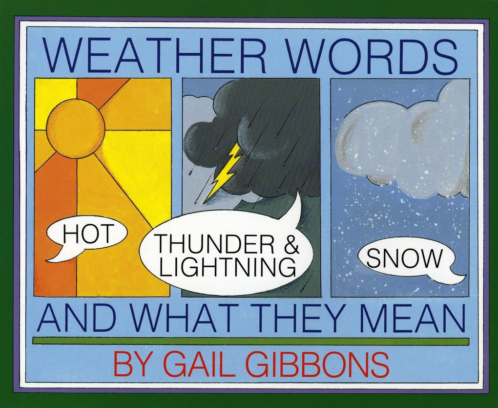 Weather Words and What They Mean als Taschenbuch