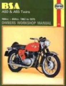 B. S. A. A50 and A65 Series Owner's Workshop Manual als Buch