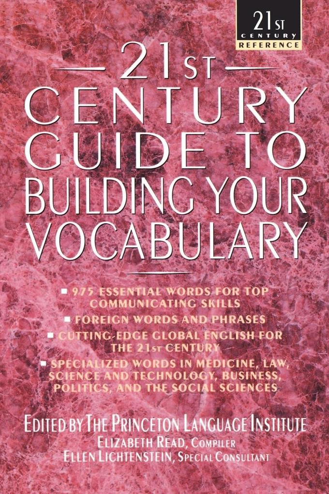 21st Century Guide to Building Your Vocabulary als Taschenbuch