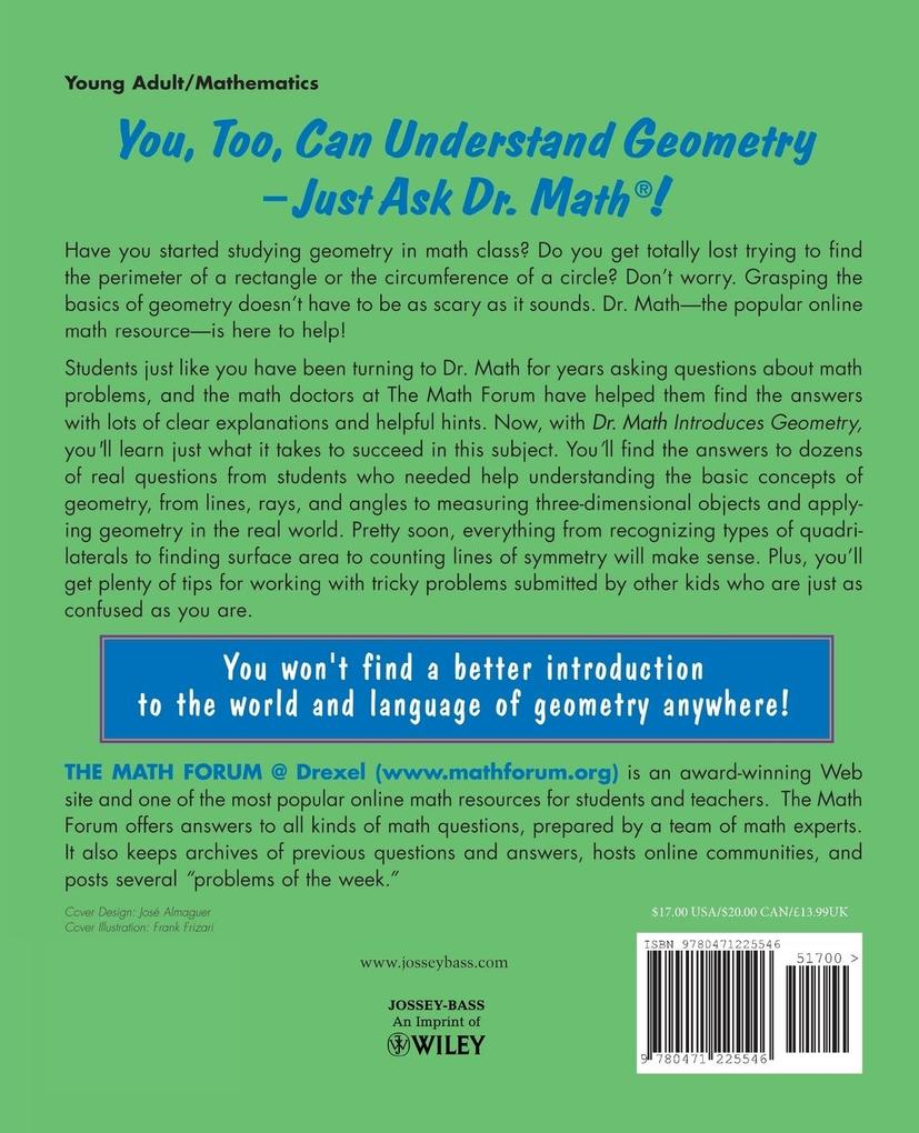 Dr. Math Introduces Geometry als Taschenbuch