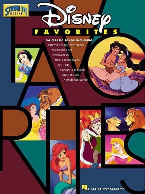 Disney Favorites als Taschenbuch