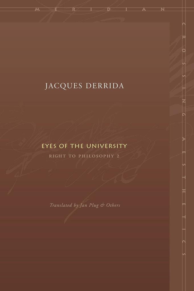 Eyes of the University: Right to Philosophy 2 als Taschenbuch