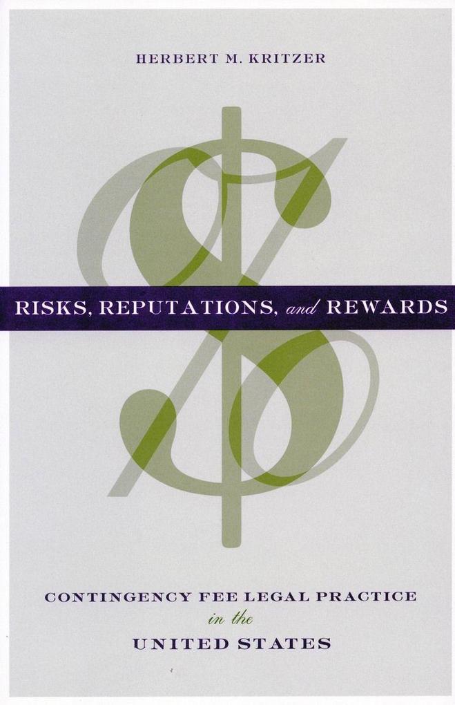 Risks, Reputations, and Rewards als Buch
