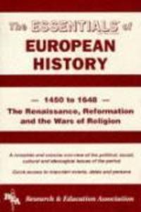 European History: 1450 to 1648 Essentials als Taschenbuch