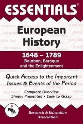 European History: 1648 to 1789 Essentials als Taschenbuch