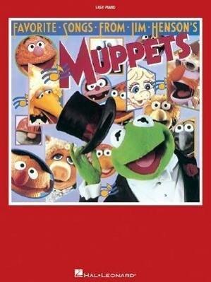 Favorite Songs from Jim Henson's Muppets als Taschenbuch