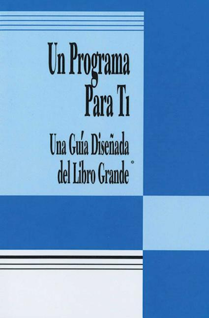 Spanish a Program for You Book: A Guide to the Big Book's Design for Living als Taschenbuch
