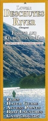 Lower Deschutes River Fishing and Recreation Map als Buch
