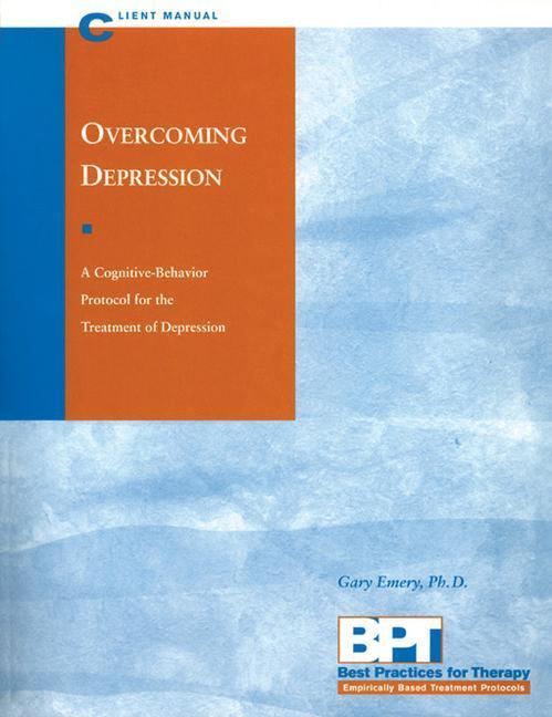 Overcoming Depression - Client Manual als Taschenbuch