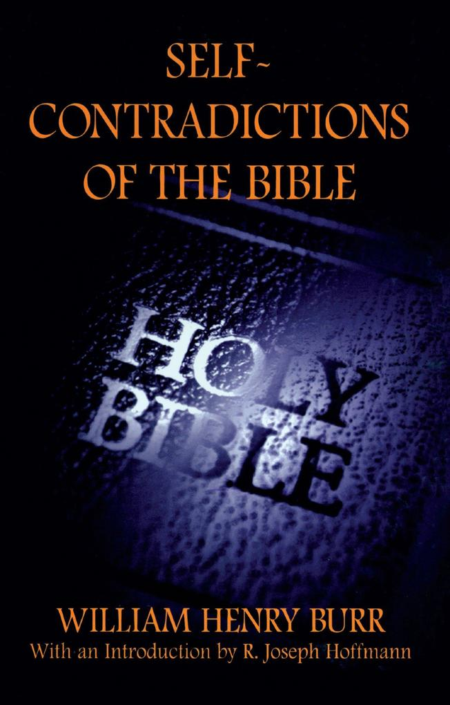 Self-Contradictions of the Bible als Taschenbuch