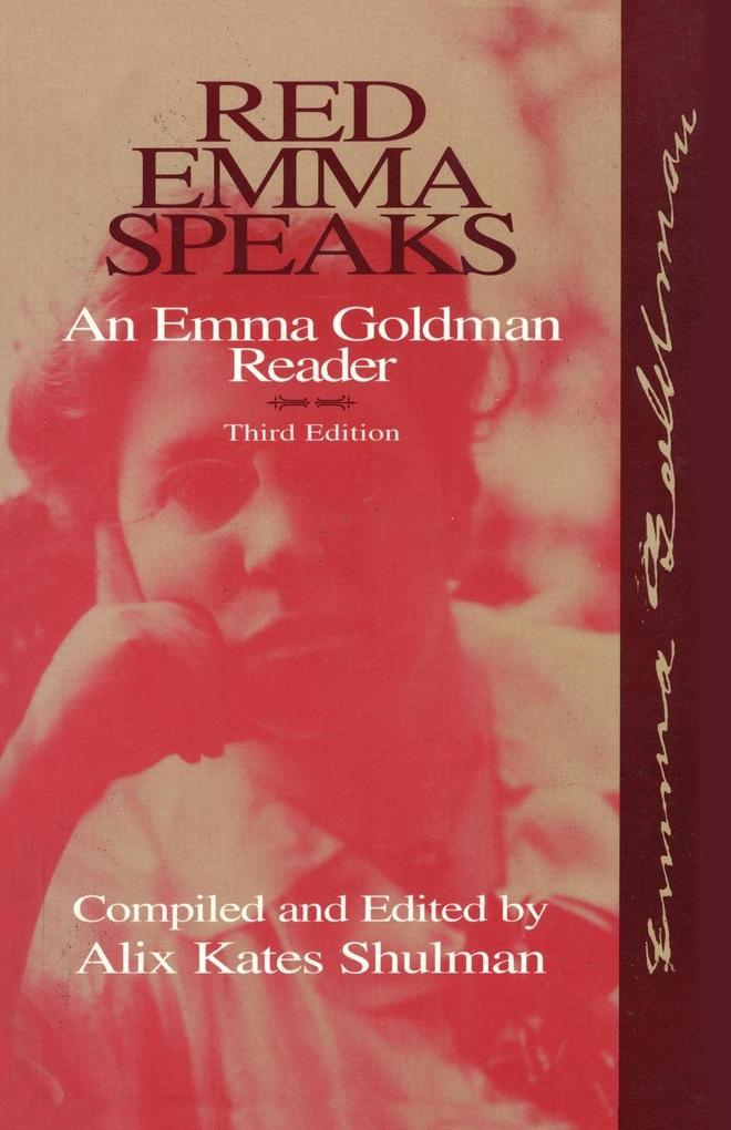 Red Emma Speaks: An Emma Goldman Reader als Taschenbuch