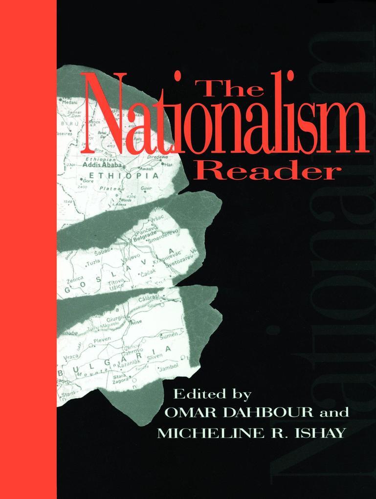 The Nationalism Reader als Taschenbuch