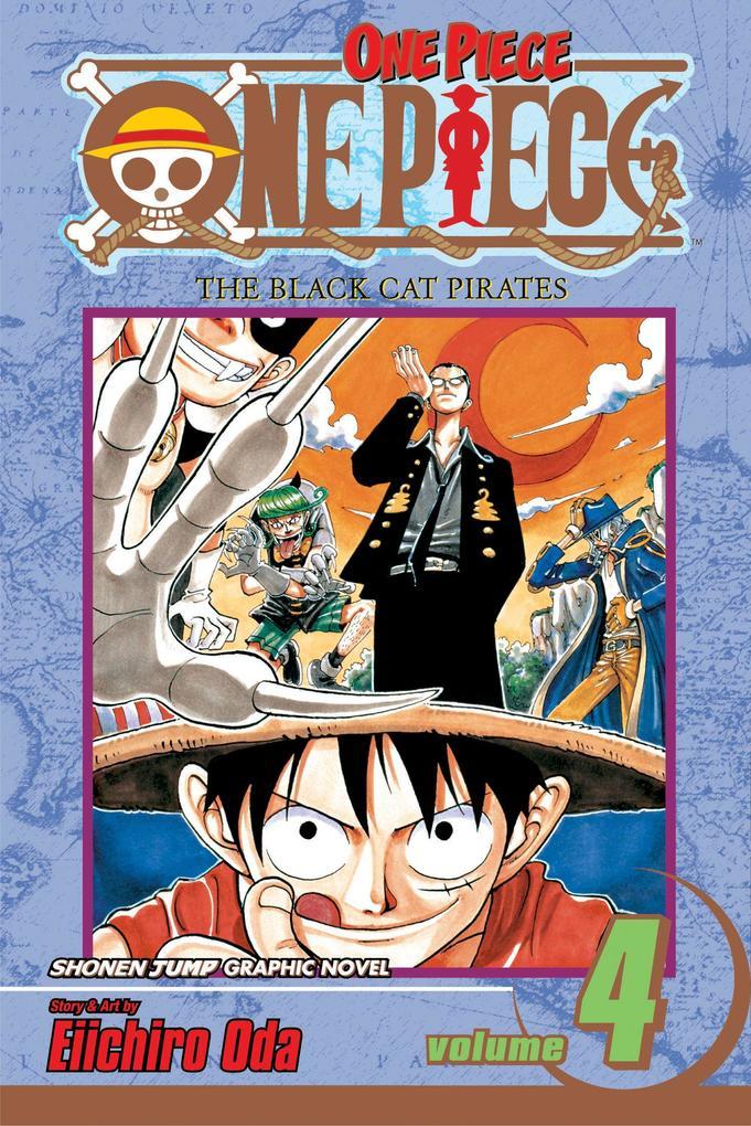 One Piece, Vol. 4 als Taschenbuch