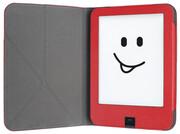 tolino shine 2HD Schutztasche mit Origami Standfunktion - Rot/Weiß