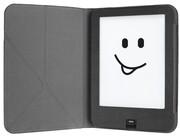 tolino vision Schutztasche mit Origami Standfunktion - Schwarz / Grau