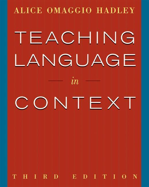 Teaching Language in Context als Buch