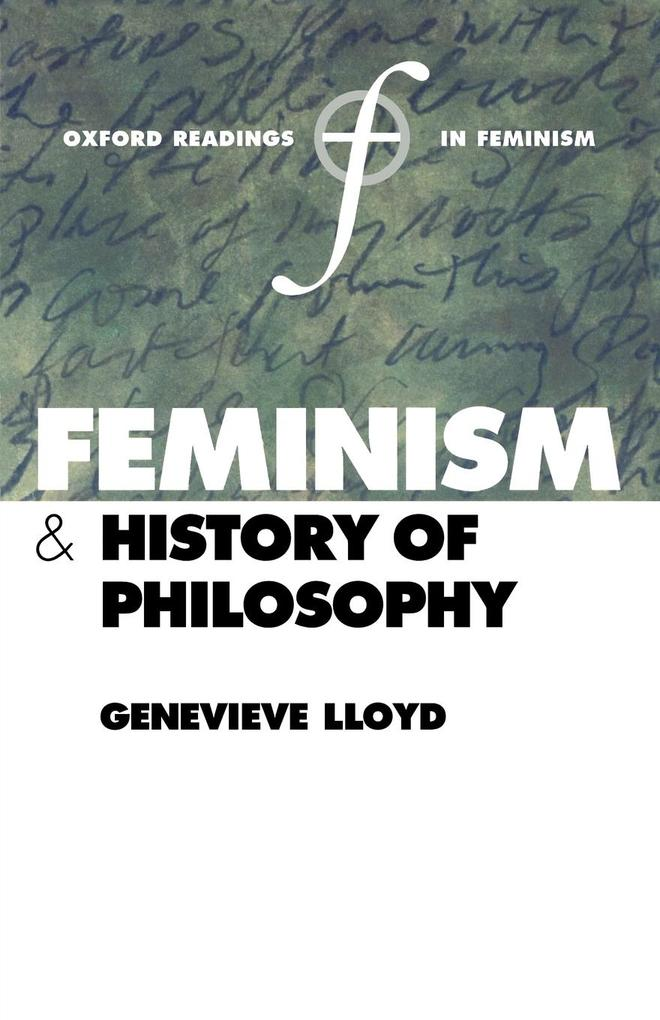 Feminism and History of Philosophy als Buch