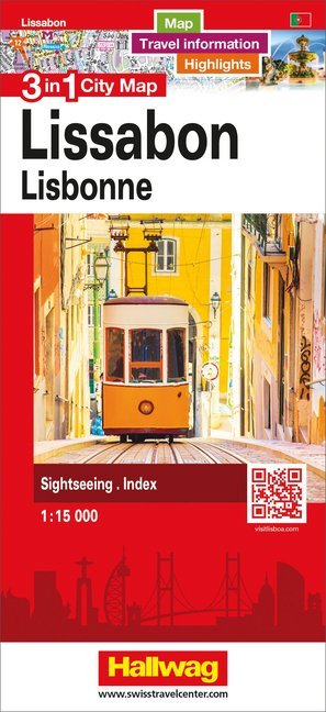 Stadtplan Lissabon 1:15 000 als Buch von