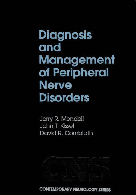 Diagnosis and Management of Peripheral Nerve Disorders als Buch