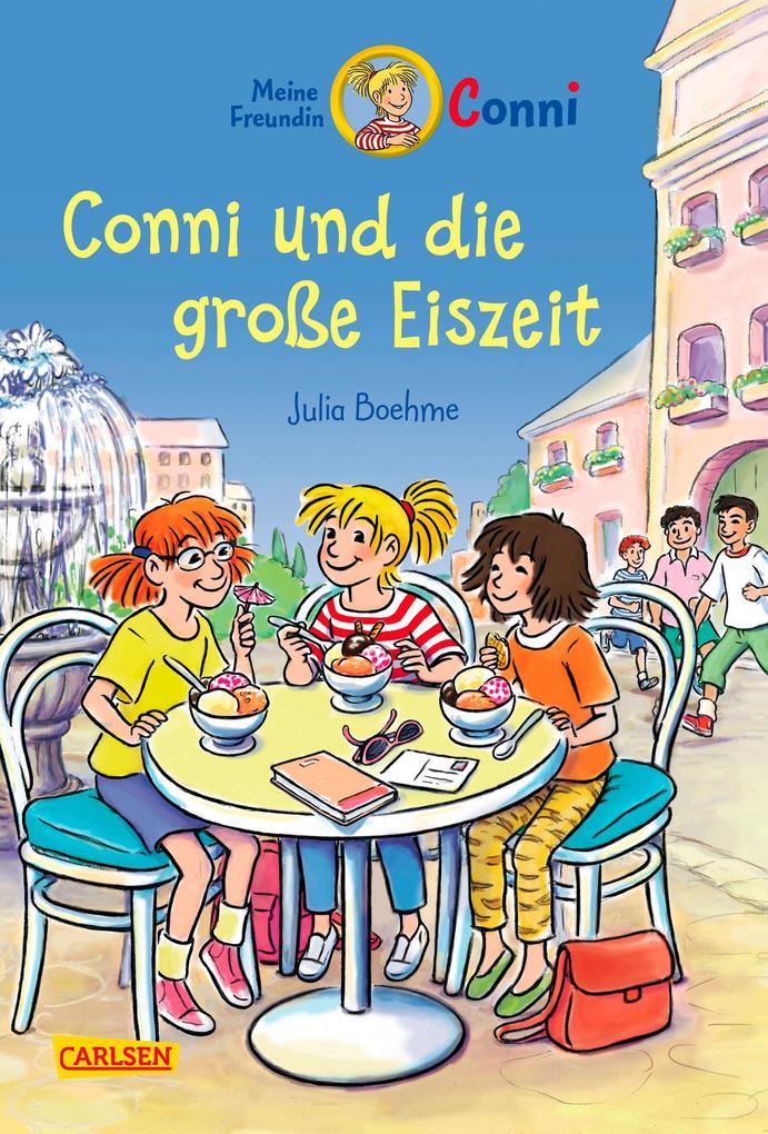 Conni-Erzählbände 21: Conni und die große Eiszeit (farbig illustriert) als Buch