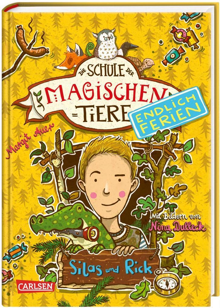 Die Schule der magischen Tiere - Endlich Ferien 2: Silas und Rick als Buch