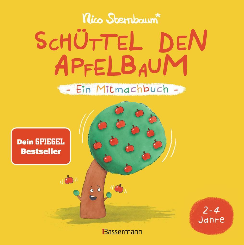 Schüttel den Apfelbaum - Ein Mitmachbuch. Für Kinder von 2 bis 4 Jahren als Buch