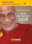 Dalai Lama - Worte der Weisheit 2018 Textabreißkalender