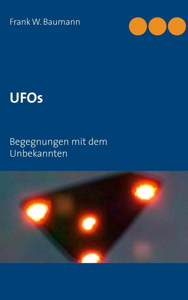 UFOs als Buch von Frank W. Baumann