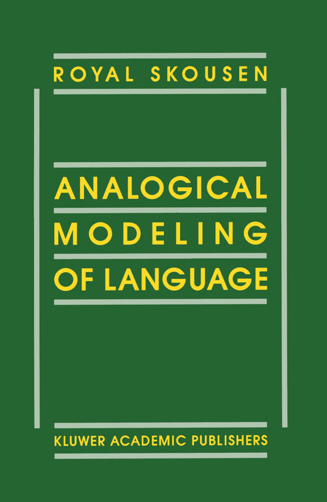 Analogical Modeling of Language als Buch
