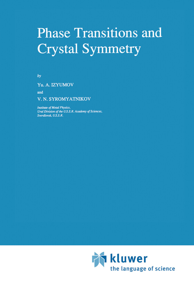 Phase Transitions and Crystal Symmetry als Buch