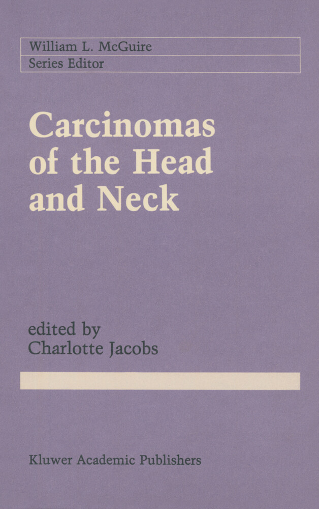 Carcinomas of the Head and Neck als Buch