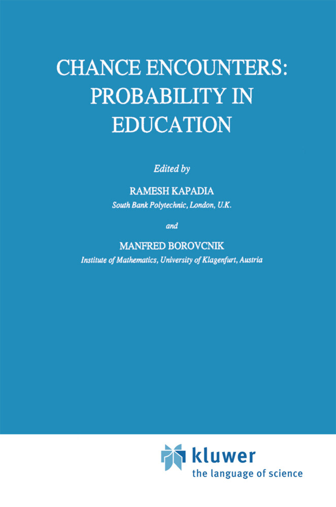 Chance Encounters: Probability in Education als Buch