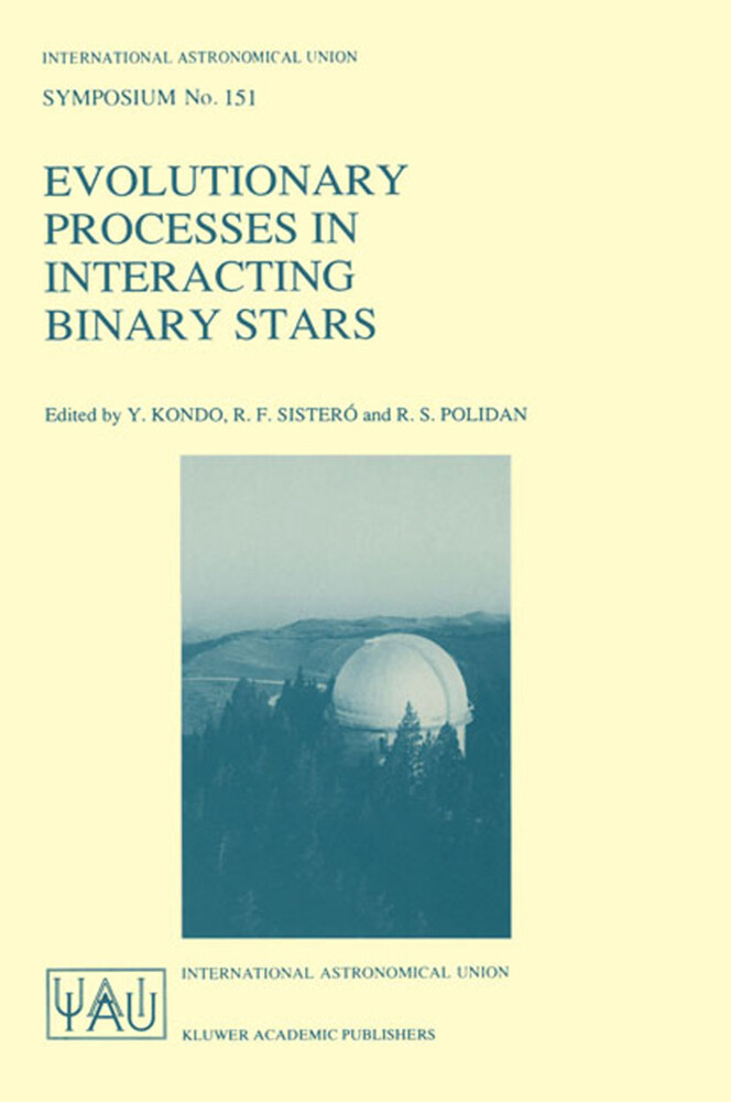 Evolutionary Processes in Interacting Binary Stars als Buch