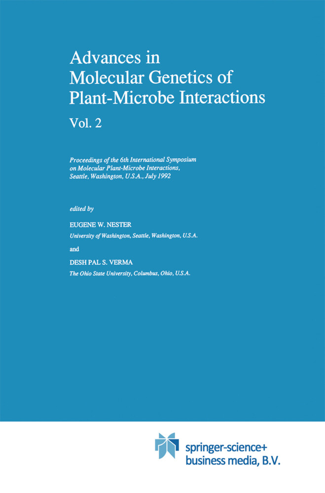 Advances in Molecular Genetics of Plant-Microbe Interactions, Vol. 2 als Buch