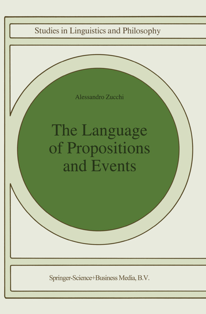 The Language of Propositions and Events als Buch