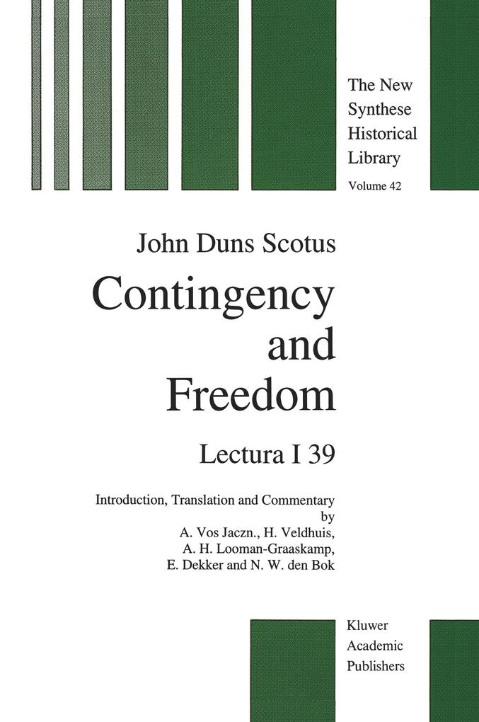 Contingency and Freedom als Buch